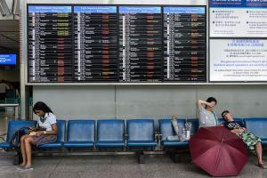 【#UTravel環球博客】颱風惡劣天氣延誤航班  旅