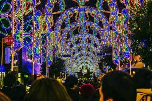 10日限定! 關西代表性燈飾「神戶光之祭典」1