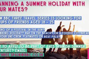申請資格簡單 BBC招募年輕人免費遊西班牙