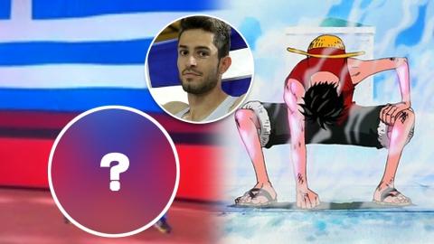 希臘跳遠選手靠最後一跳逆轉奪金 原來是個動漫迷!出場時扮路飛招牌動作惹注目