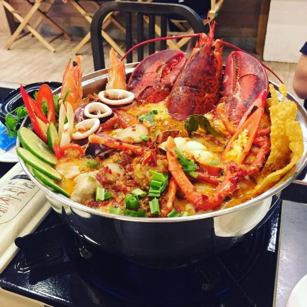 泰國風味限定 泰式大隻龍蝦火鍋 3