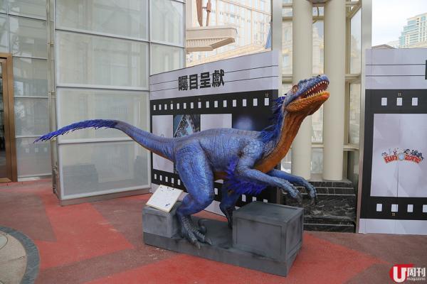 澳門恐龍互動展 搶先睇! 免費玩 VR 拍特技短片 8