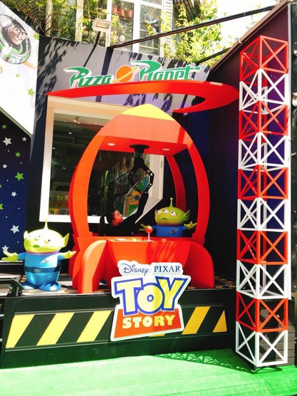 巨型三眼仔夾娃娃機! 台灣Pixar主題快閃店 3