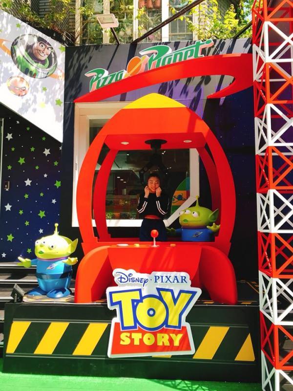 巨型三眼仔夾娃娃機! 台灣Pixar主題快閃店 5