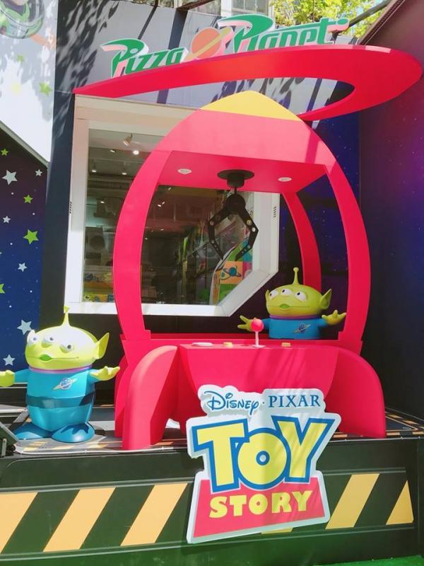巨型三眼仔夾娃娃機! 台灣Pixar主題快閃店 6