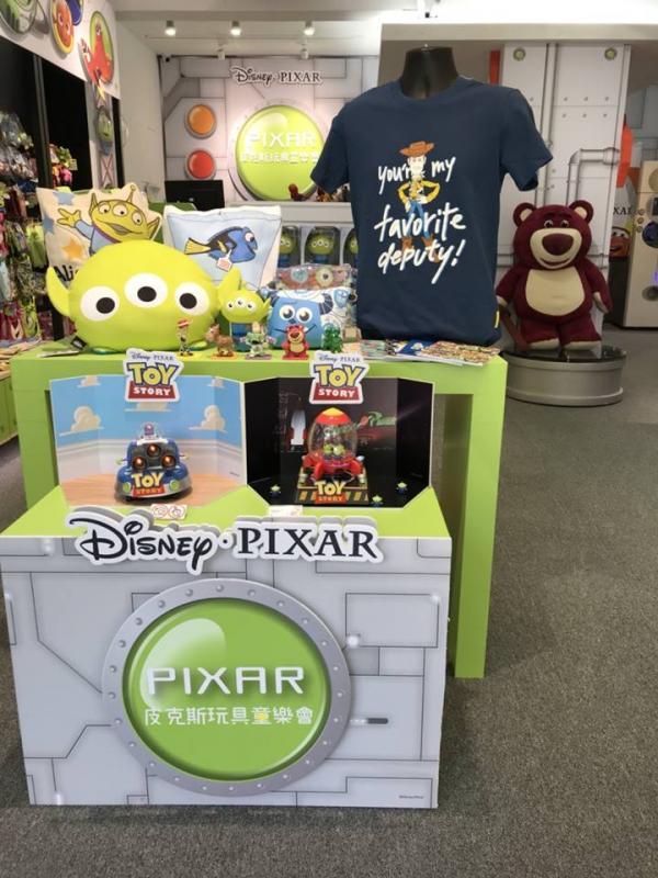 巨型三眼仔夾娃娃機! 台灣Pixar主題快閃店 12