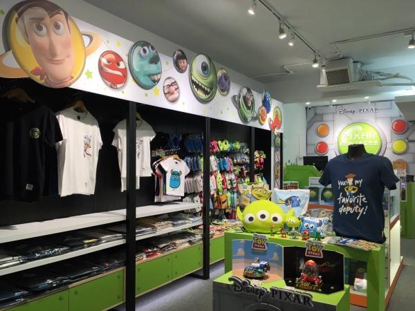 巨型三眼仔夾娃娃機! 台灣Pixar主題快閃店 10