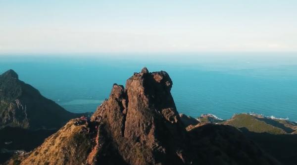 九份絕美仙境無耳茶壺山 俯瞰東北角海岸 2
