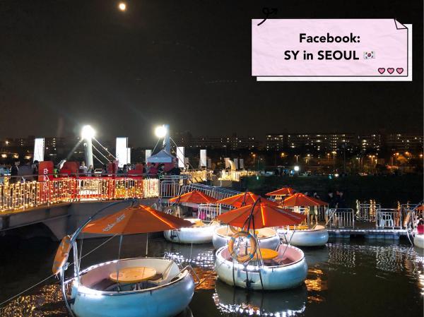 【韓國景點】 漢江Tubester觀光船回歸 坐小艇欣賞月光彩虹噴泉 3