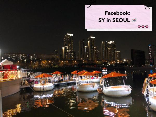 【韓國景點】 漢江Tubester觀光船回歸 坐小艇欣賞月光彩虹噴泉 4