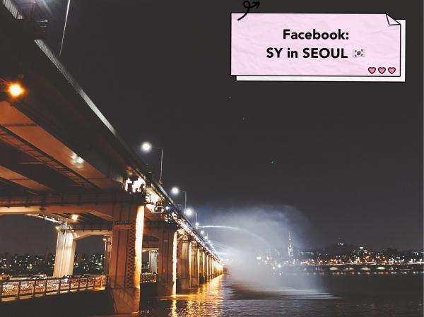 【韓國景點】 漢江Tubester觀光船回歸 坐小艇欣賞月光彩虹噴泉 9