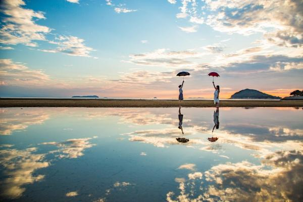 走進超魔幻美景 日本「天空之鏡」6選 14