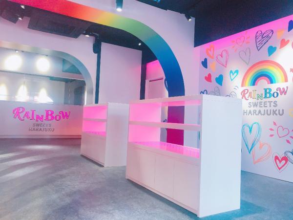 全世界首間彩虹甜品店 5月原宿竹下通開幕 8