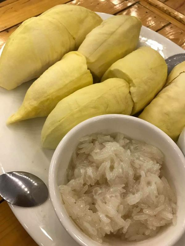 【泰國美食】榴槤迷曼谷朝聖熱點! 曼谷甜品店歎榴槤山雪花冰 2