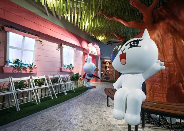 粉絲準備出發! 全球首個 LINE 主題樂園曼谷 Siam Square開幕 5
