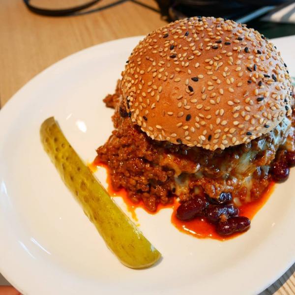 【韓國美食】芝士通粉多到滿瀉! 首爾手製漢堡店 7