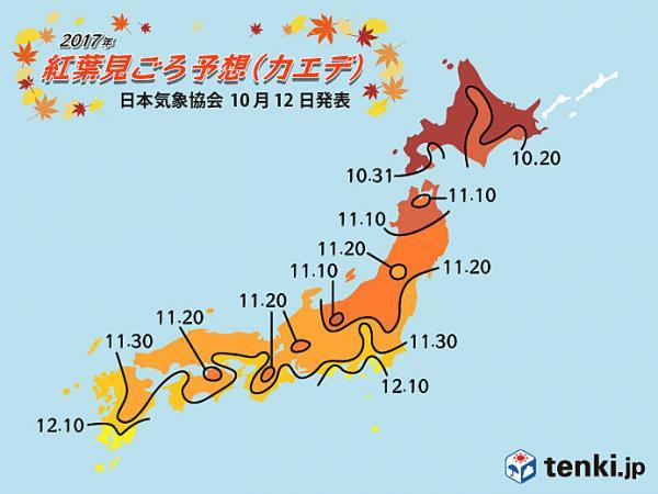 2018日本紅葉時間表 紅葉最前線/紅葉預測/賞楓景點推薦總整理 57
