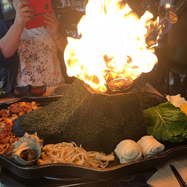 噴火即燒海鮮! 濟州島重量級海鮮拼盤 2