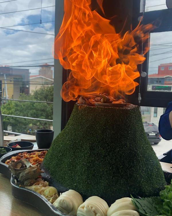 噴火即燒海鮮! 濟州島重量級海鮮拼盤 1