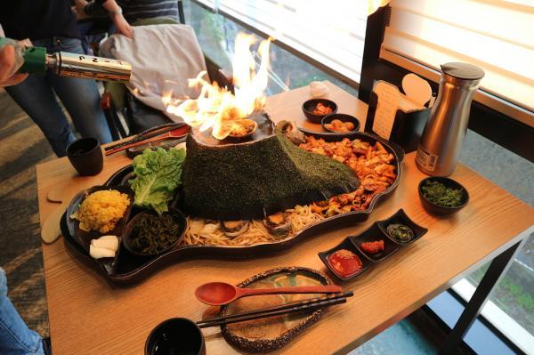 噴火即燒海鮮! 濟州島重量級海鮮拼盤 5