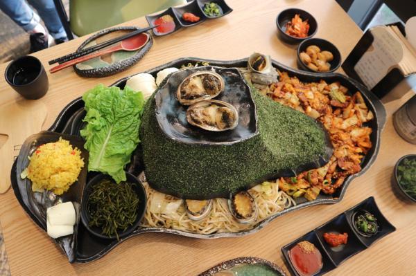 噴火即燒海鮮! 濟州島重量級海鮮拼盤 6