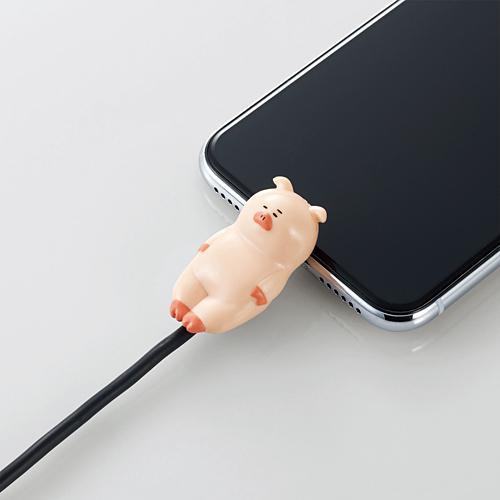 手機當枕頭、瞓住保護電線 日本推出得意動物造型充電線保護套 10