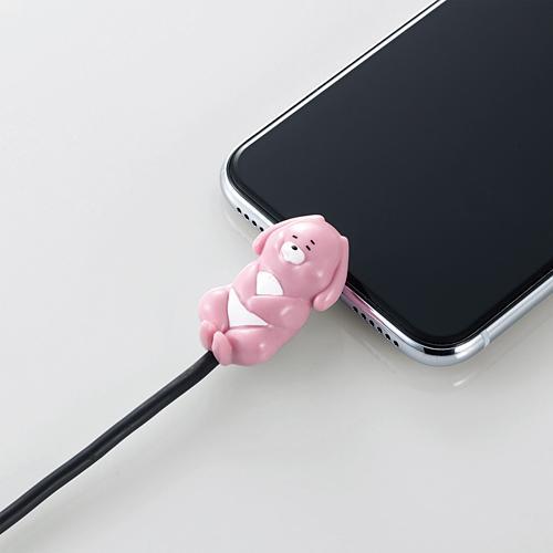 手機當枕頭、瞓住保護電線 日本推出得意動物造型充電線保護套 5