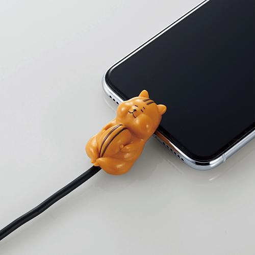 手機當枕頭、瞓住保護電線 日本推出得意動物造型充電線保護套 11