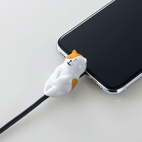 手機當枕頭、瞓住保護電線 日本推出得意動物造型充電線保護套 2