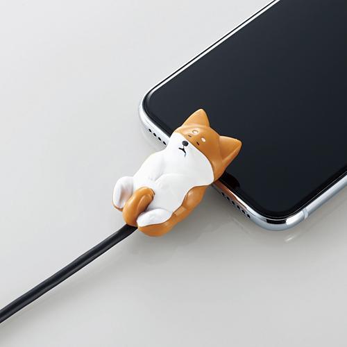 手機當枕頭、瞓住保護電線 日本推出得意動物造型充電線保護套 3