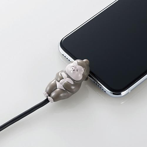 手機當枕頭、瞓住保護電線 日本推出得意動物造型充電線保護套 6