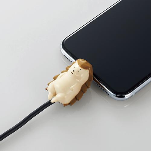 手機當枕頭、瞓住保護電線 日本推出得意動物造型充電線保護套 7