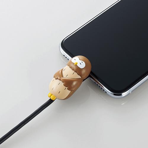 手機當枕頭、瞓住保護電線 日本推出得意動物造型充電線保護套 8