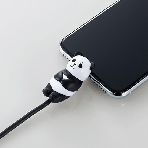 手機當枕頭、瞓住保護電線 日本推出得意動物造型充電線保護套 4