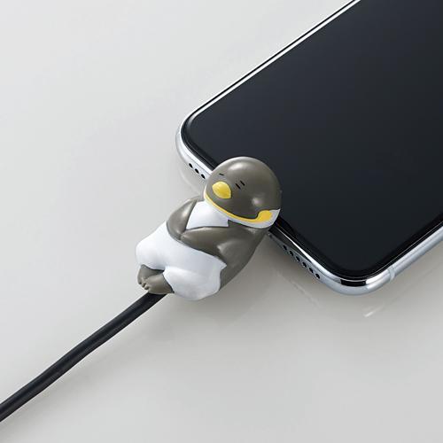 手機當枕頭、瞓住保護電線 日本推出得意動物造型充電線保護套 12