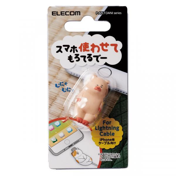手機當枕頭、瞓住保護電線 日本推出得意動物造型充電線保護套 1