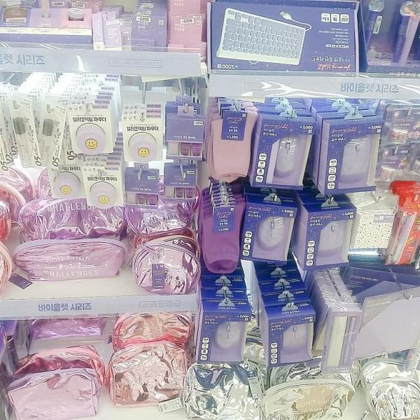 文具/化妝品/連滑鼠都係紫色! 韓國Daiso新推紫色系列 35