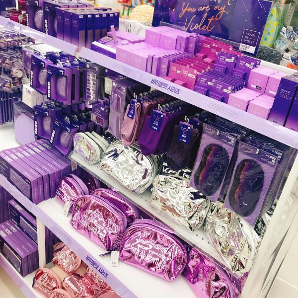 文具/化妝品/連滑鼠都係紫色! 韓國Daiso新推紫色系列 3