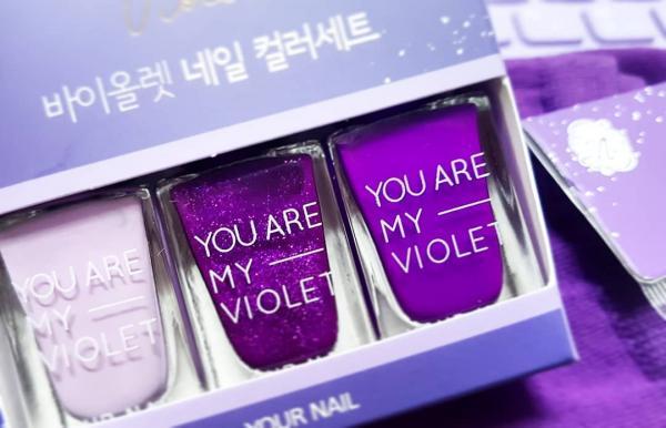 文具/化妝品/連滑鼠都係紫色! 韓國Daiso新推紫色系列 26