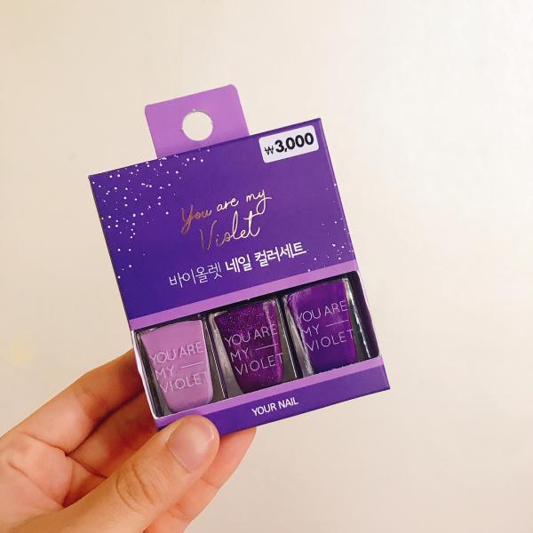 文具/化妝品/連滑鼠都係紫色! 韓國Daiso新推紫色系列 27