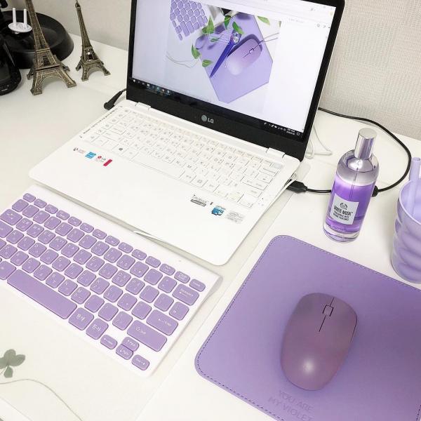 文具/化妝品/連滑鼠都係紫色! 韓國Daiso新推紫色系列 19