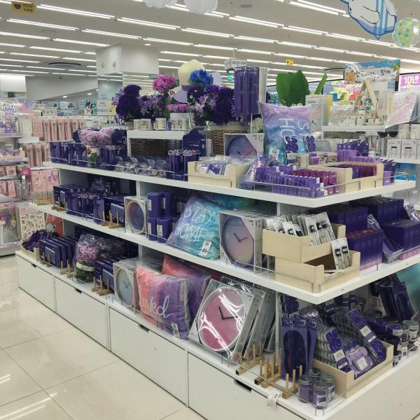 文具/化妝品/連滑鼠都係紫色! 韓國Daiso新推紫色系列 2