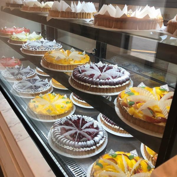舖滿水果的人氣水果撻! 釜山大熱甜點咖啡店 83
