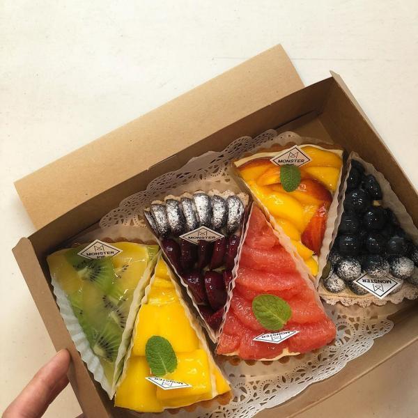 舖滿水果的人氣水果撻! 釜山大熱甜點咖啡店 58