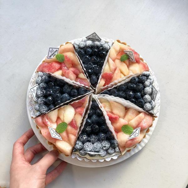 舖滿水果的人氣水果撻! 釜山大熱甜點咖啡店 61