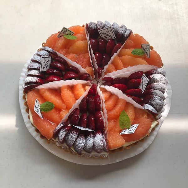舖滿水果的人氣水果撻! 釜山大熱甜點咖啡店 62