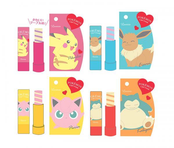 等小精靈滋潤你! 日本Pokemon潤唇膏系列8月登場 5