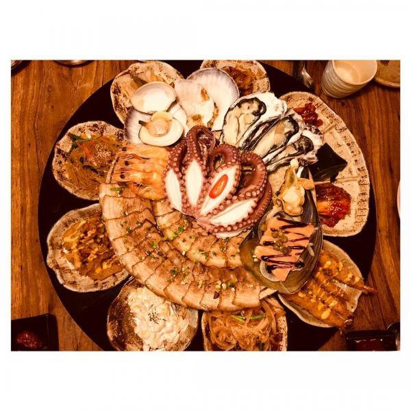 重量級海鮮菜包豬肉! 韓國大王海鮮菜包肉店 17