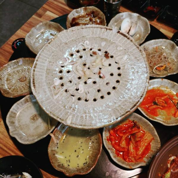 重量級海鮮菜包豬肉! 韓國大王海鮮菜包肉店 12