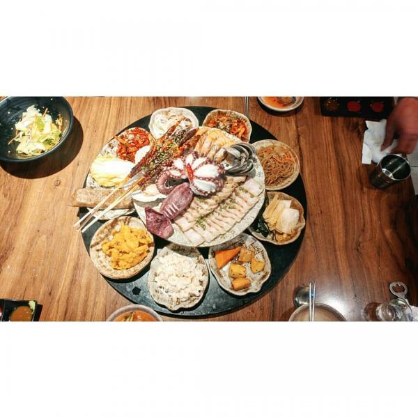 重量級海鮮菜包豬肉! 韓國大王海鮮菜包肉店 15
